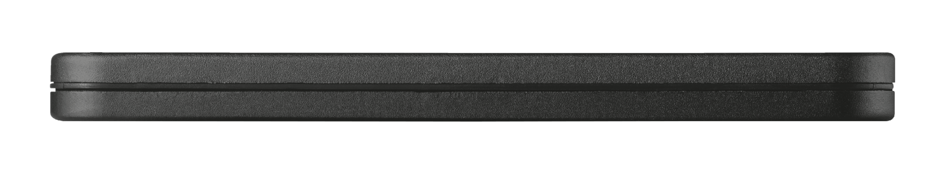 PowerBank 1800T Ultra-thin Portable Charger - black pattern-Side