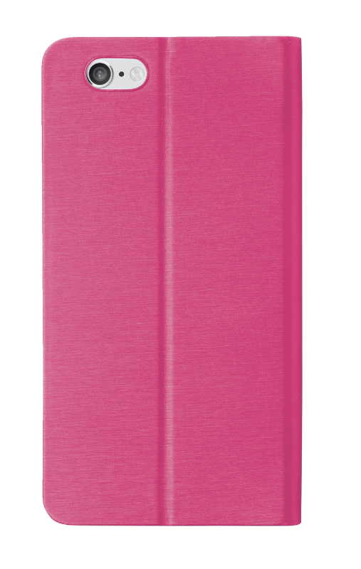 Aeroo Ultrathin Cover stand for iPhone 6 Plus - pink-Back