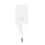 10W Fast Wall Charger for Samsung phones & tablets - white-Side