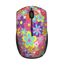 Ovi Wireless Ultra Small Mouse - pink flower power-Top