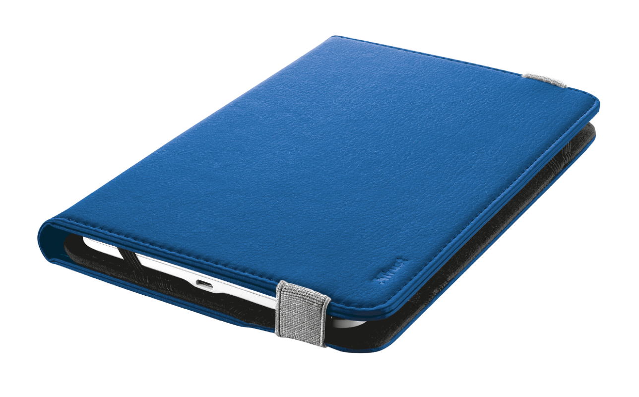 """Primo Folio Case with Stand for 7-8"""" tablets - blue-Visual"""