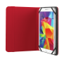 """Primo Folio Case with Stand for 7-8"""" tablets - red-Visual"""