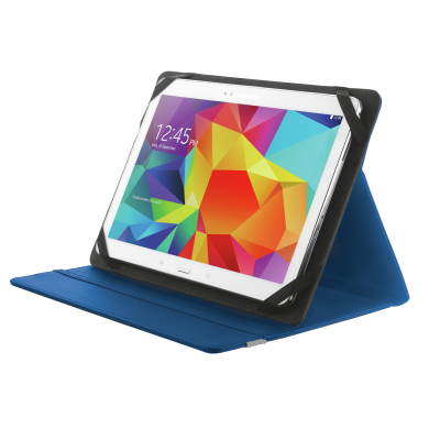 """Primo Folio Case with Stand for 10"""" tablets - blue-Visual"""