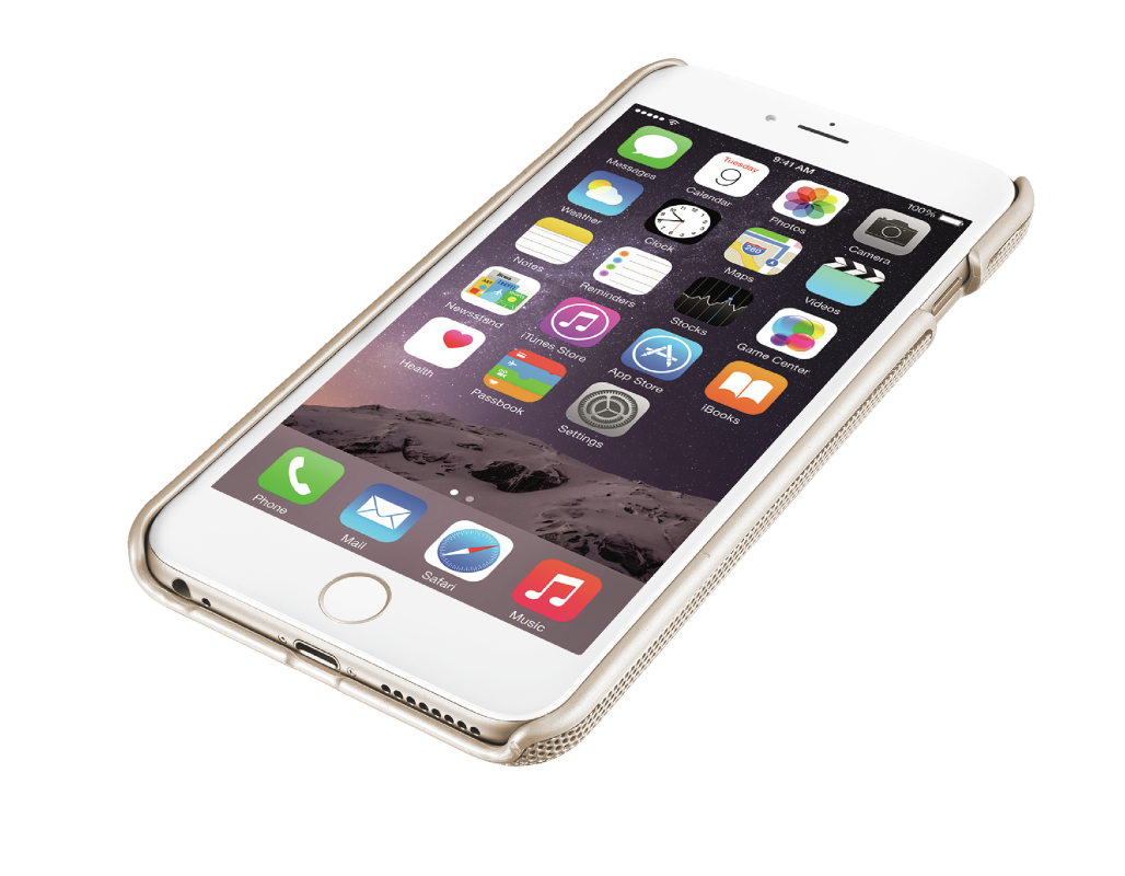 Endura Grip & Protection case for iPhone 6 Plus - gold-Visual