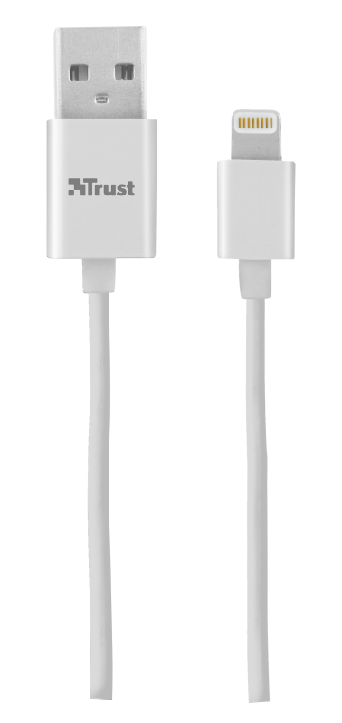 Lightning Cable 20cm - white-Top