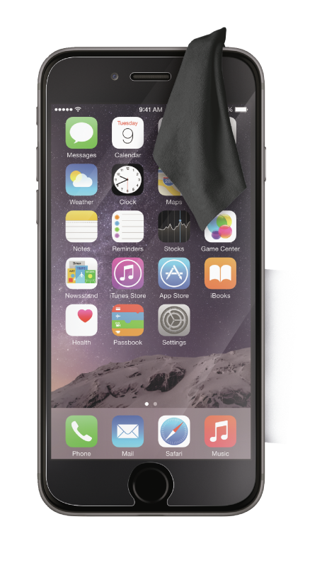 Tempered Glass Screen Protector for iPhone 6 Plus-Front