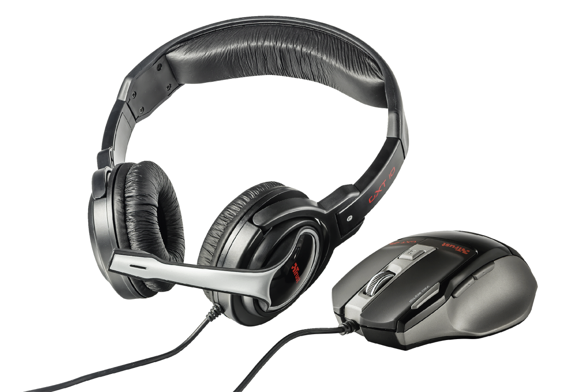 GXT 249 Gaming Headset & Mouse-Visual