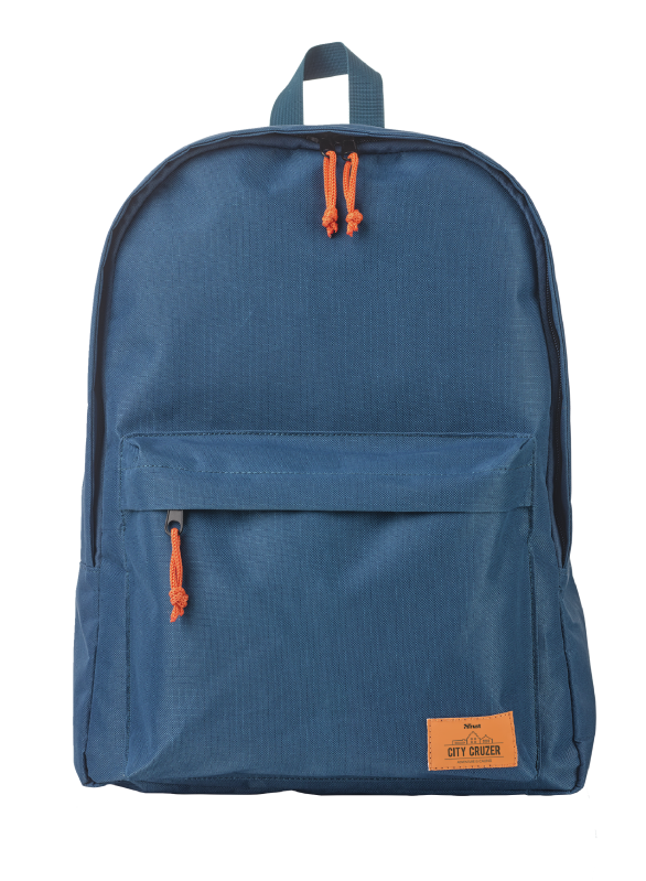 """City Cruzer Backpack for 16"""" laptops - blue-Front"""