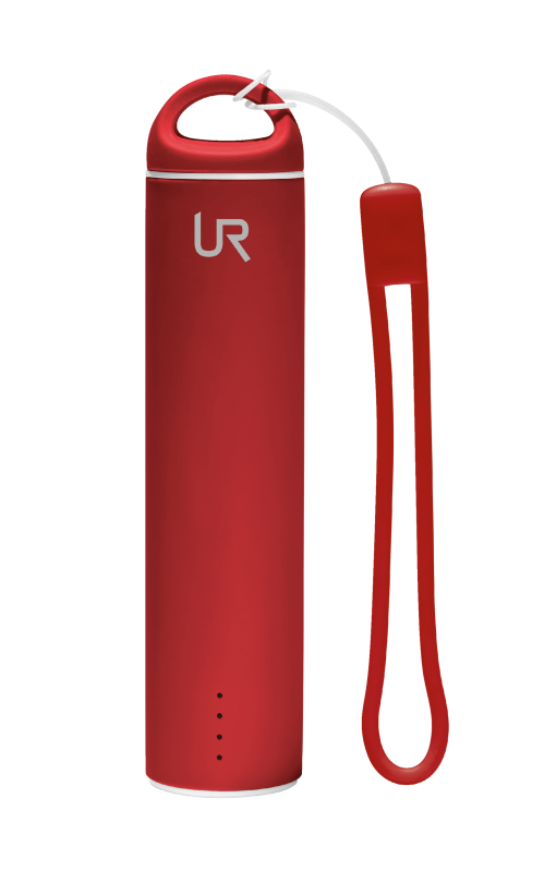 Stilo PowerStick Portable Charger 2600 - red-Top