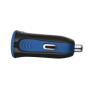 5W Car Charger - blue-Side