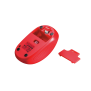 Primo Wireless Mouse - red-Bottom