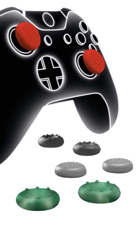 GXT 264 Thumb Grips 8-pack for Xbox One controllers-Visual