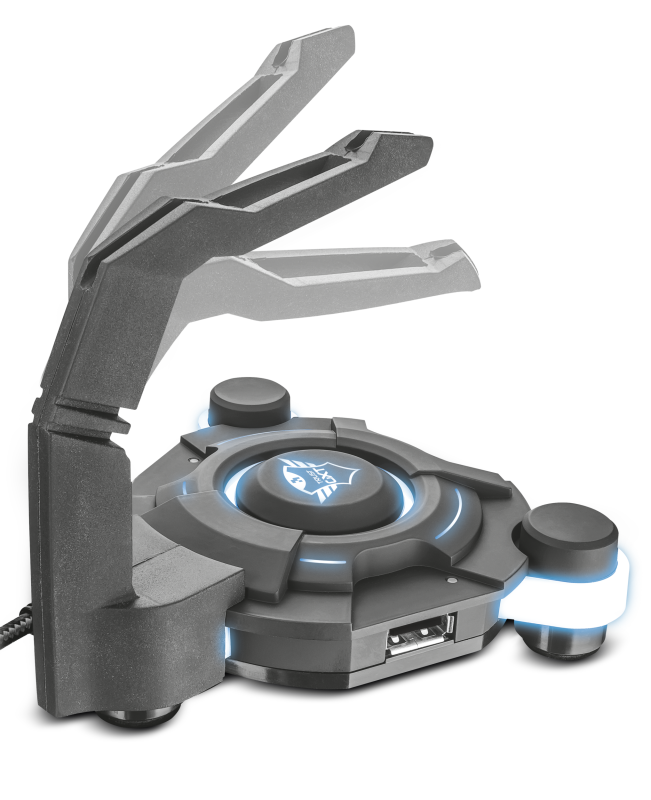 GXT 213 USB Hub & Mouse Bungee-Visual