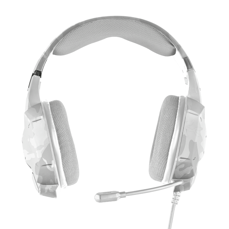GXT 322W Carus Gaming Headset - snow camo-Top