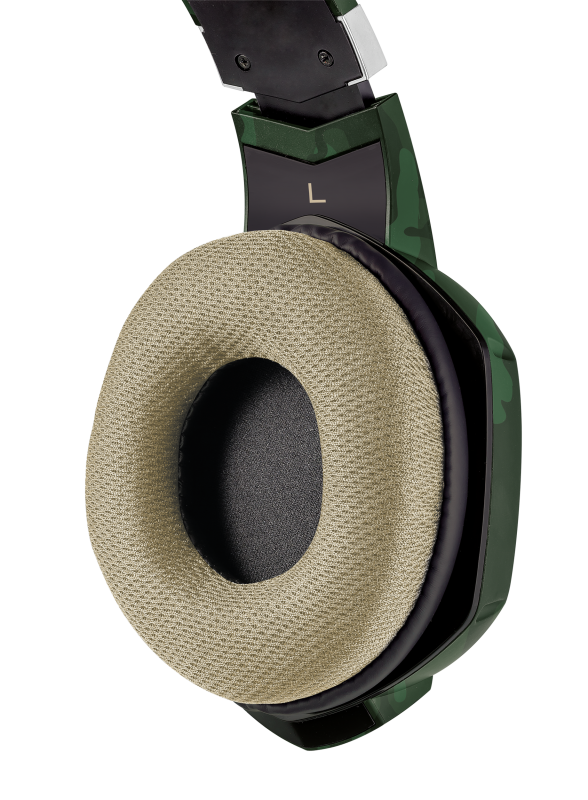 GXT 322C Carus Gaming Headset - jungle camo-Extra