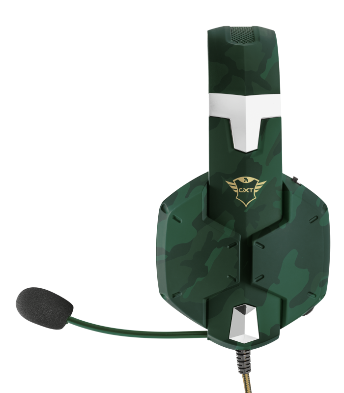 GXT 322C Carus Gaming Headset - jungle camo-Side