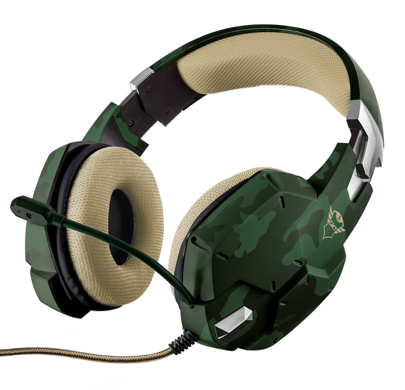GXT 322C Carus Gaming Headset - jungle camo-Visual