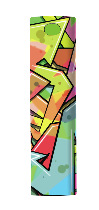 Tag PowerStick Portable Charger 2600 - graffiti arrows-Front