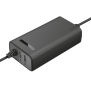 Duo Universal 90W Laptop charger with 2 USB ports-Visual
