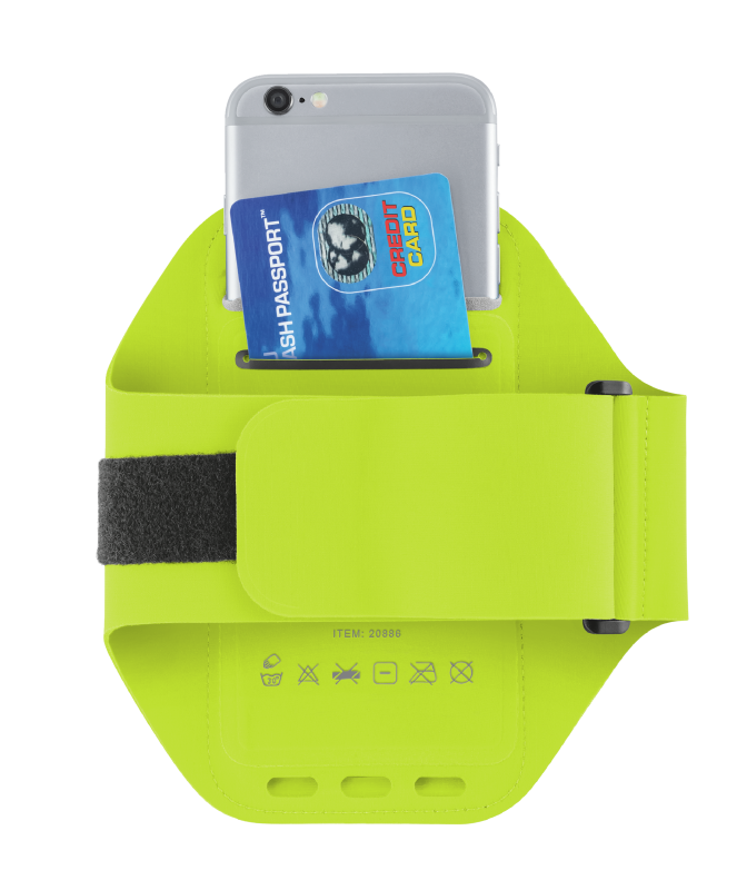 Bracus Sports Arm Band for iPhone6/6S - lime green-Extra