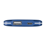 PowerBank 4000T Thin Portable Charger - blue-Front