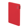 PowerBank 2200T Ultra-thin Portable Charger - red-Visual