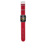 Nylon Wrist Band for Apple Watch 42mm - red-Top