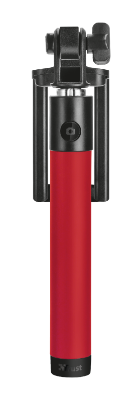 Bluetooth Foldable Selfie Stick - red-Top