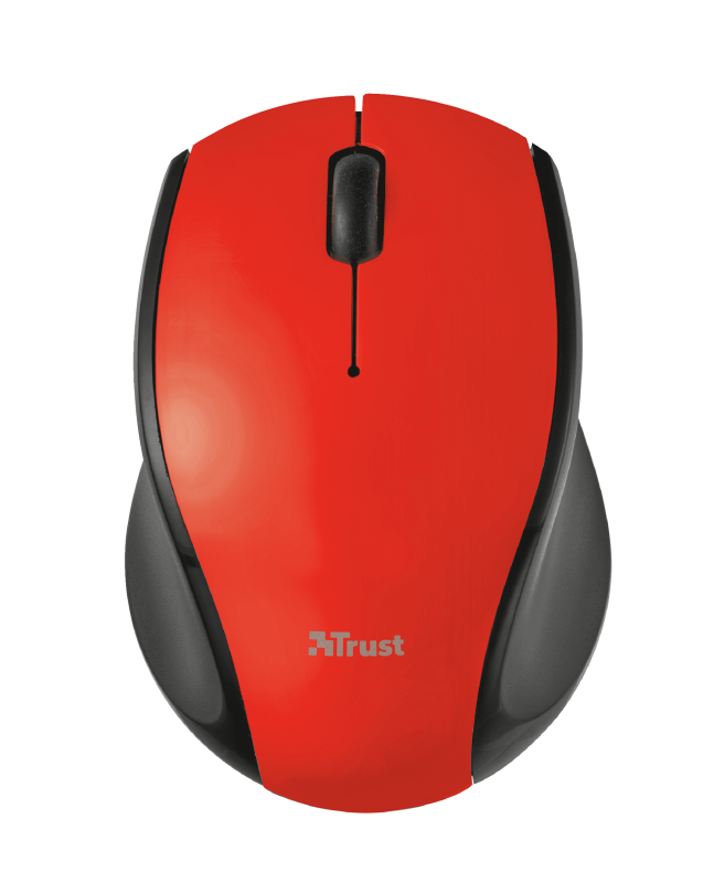 Oni Micro Wireless Mouse - red-Top