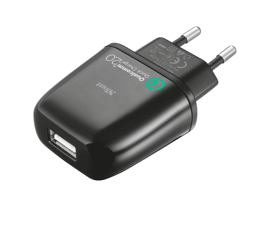 Ultra Fast Wall Charger for phones & tablets-Visual