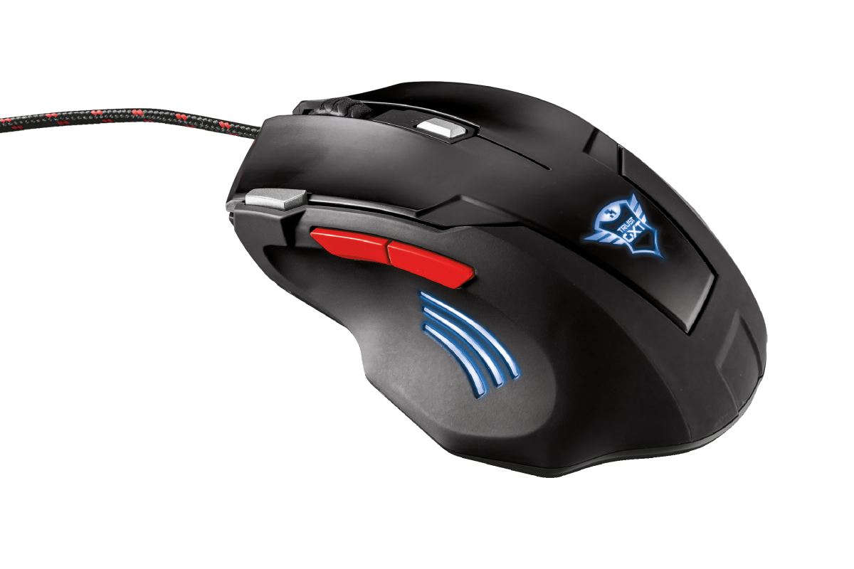 GXT 4111 Zapp Gaming Mouse-Back