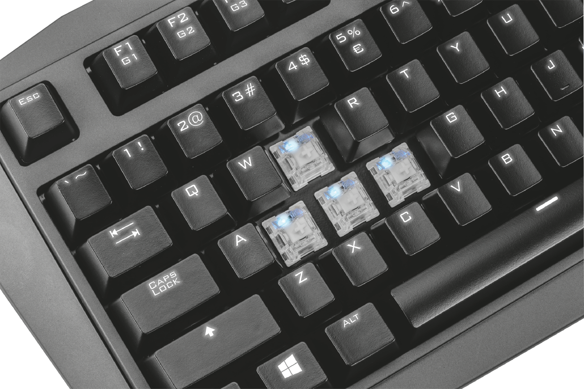 GXT 880 Mechanical Gaming Keyboard-Extra