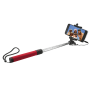 Foldable Selfie Stick - red-Visual