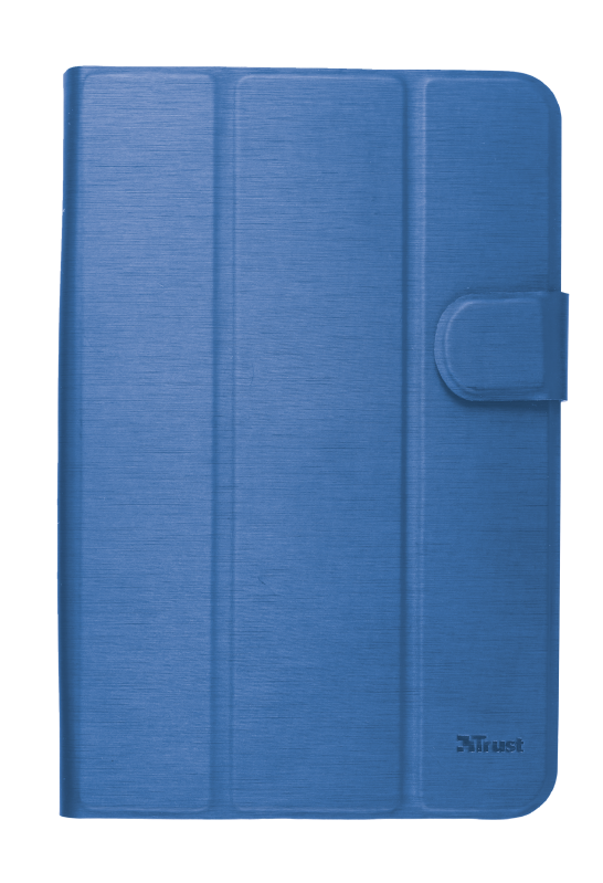 """Aexxo Universal Folio Case for 7-8"""" tablets - blue-Front"""