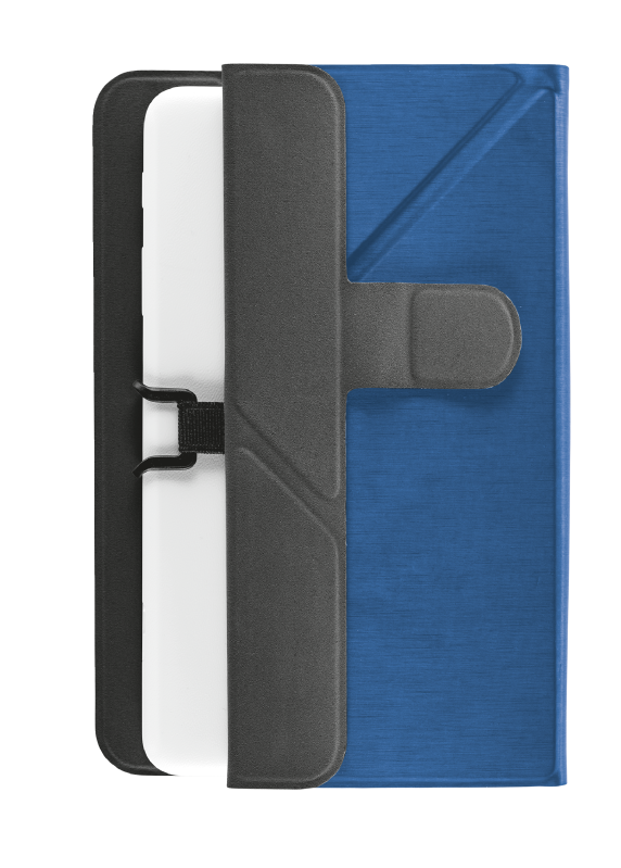 """Aexxo Universal Folio Case for 9.7"""" tablets - blue-Extra"""