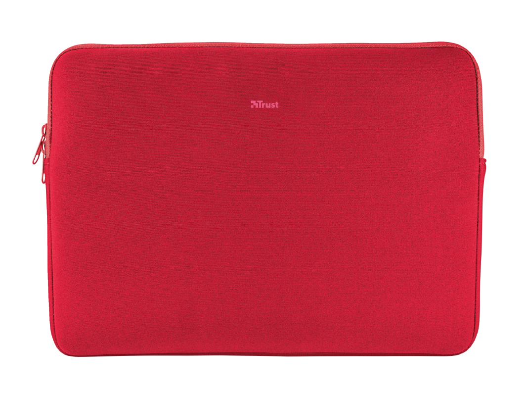 """Primo Soft Sleeve for 15.6"""" laptops - red-Top"""