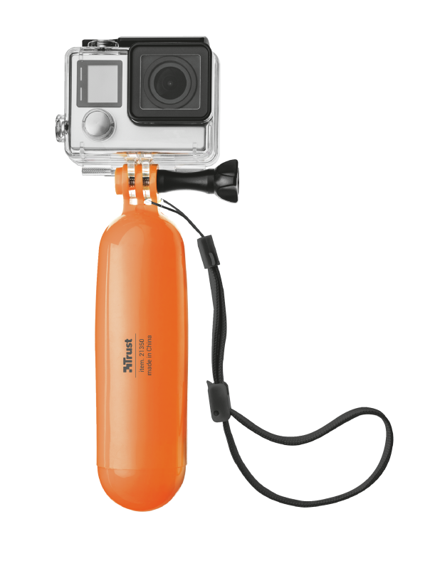 Floating Hand Grip for action cameras-Front