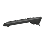 Evo Silent Wireless Keyboard with mouse-Side
