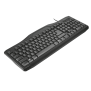 Classicline Wired Keyboard with mouse-Visual