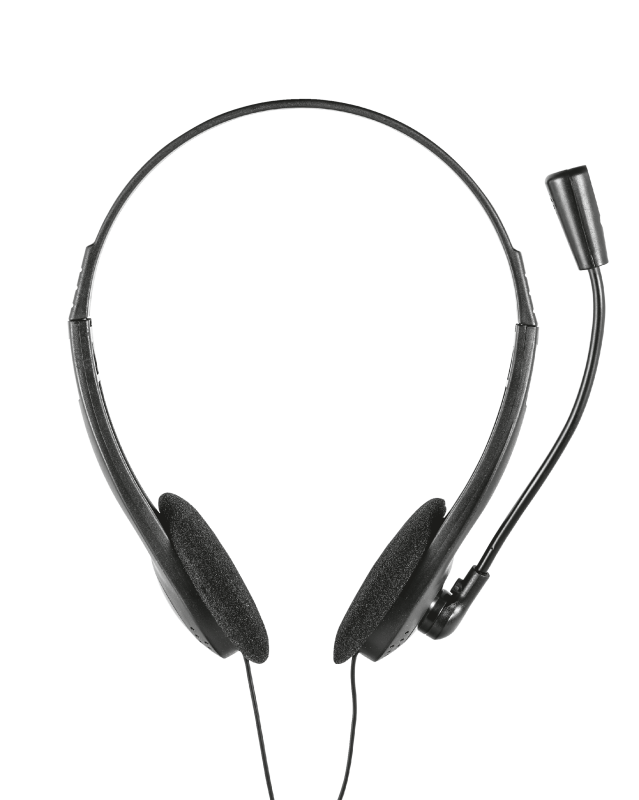 Ziva Chat Headset-Front
