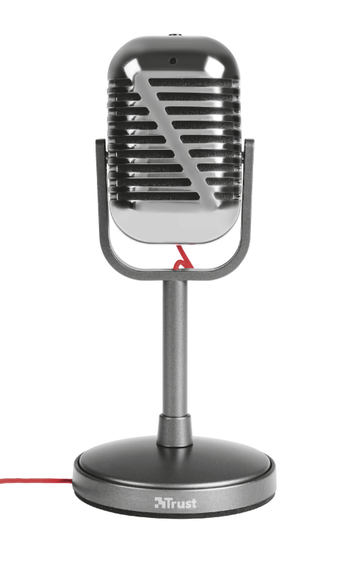 Elvii Vintage Microphone for PC and laptop-Front