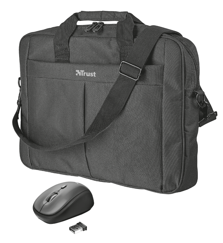 """Primo Bag for 16"""" laptops with wireless mouse-Visual"""
