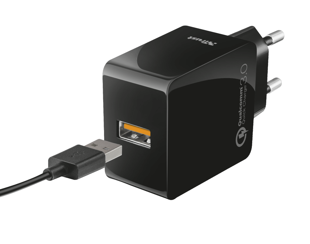 Ultra-Fast USB Wall Charger with QC3.0 and auto-detect-Visual