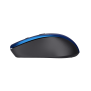 Mydo Silent Click Wireless Mouse - blue-Side