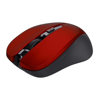 Mydo Silent Click Wireless Mouse - red-Visual