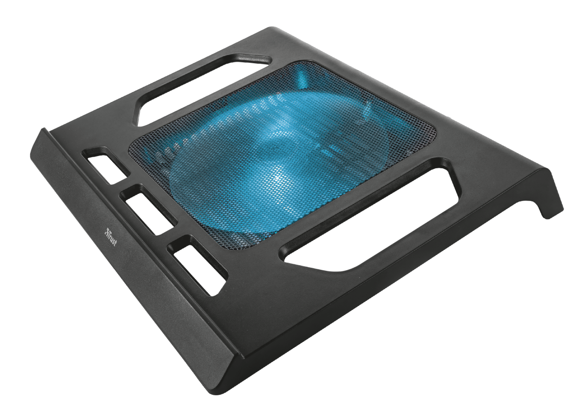 Kuzo Laptop Cooling Stand with extra large fan-Visual