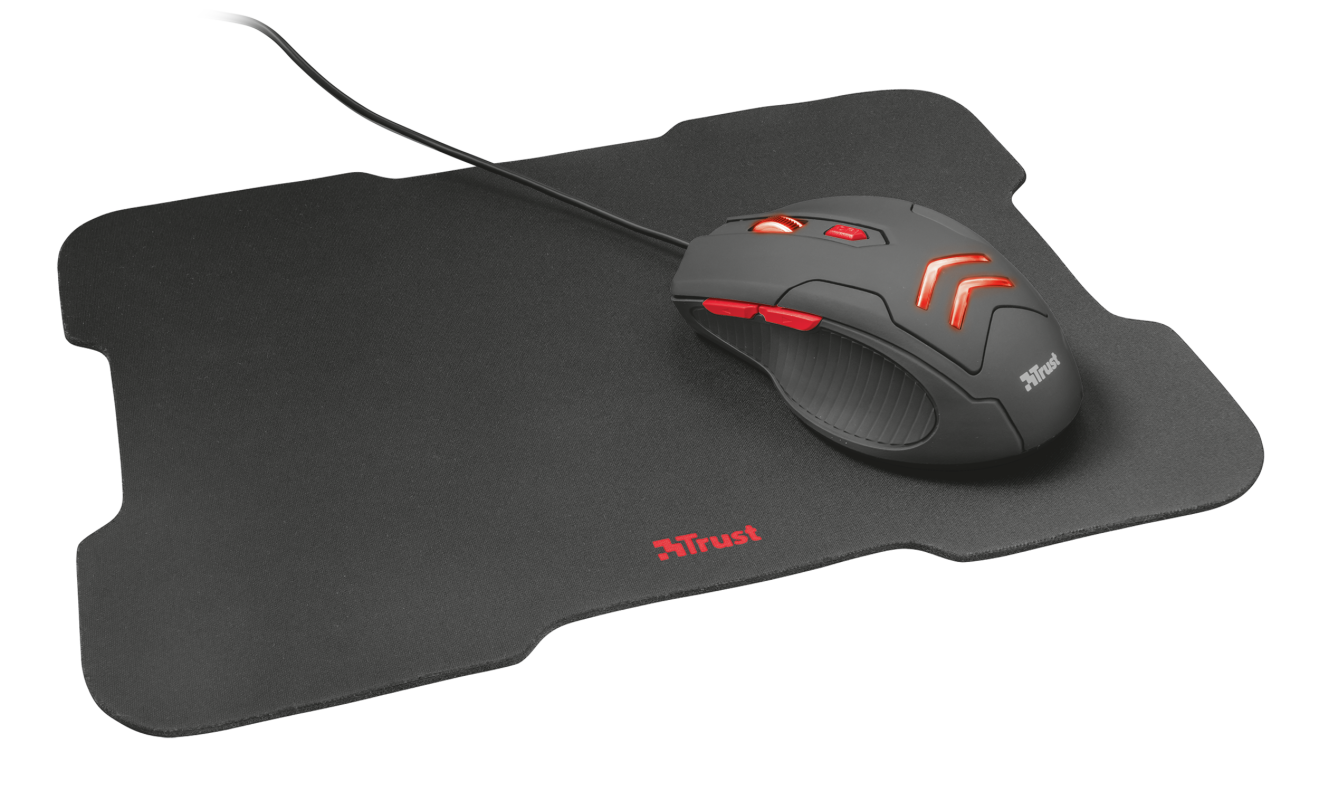 Ziva Gaming Mouse with mouse pad-Visual