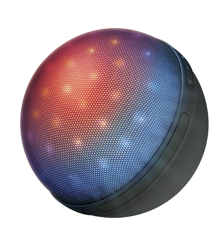 Dixxo Orb Bluetooth Wireless Speaker with party lights-Visual