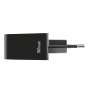 24W Fast Wall Charger with 4 USB-C & USB-A ports-Side
