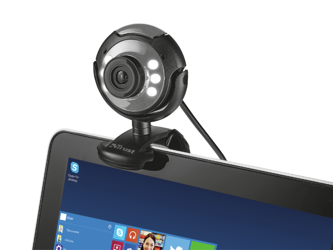 Spotlight Streaming Pack (webcam and microphone)-Extra